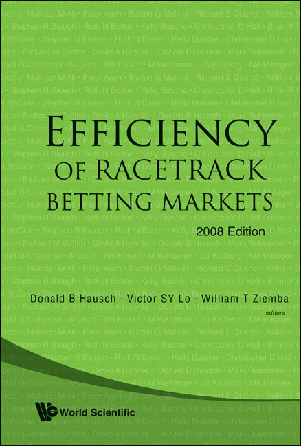 Efficiency of Racetrack Betting Markets   World Scientific