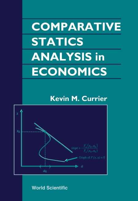 comparative statics analysis in economics