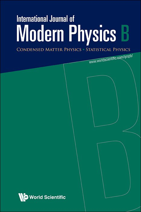 International Journal of Modern Physics B :