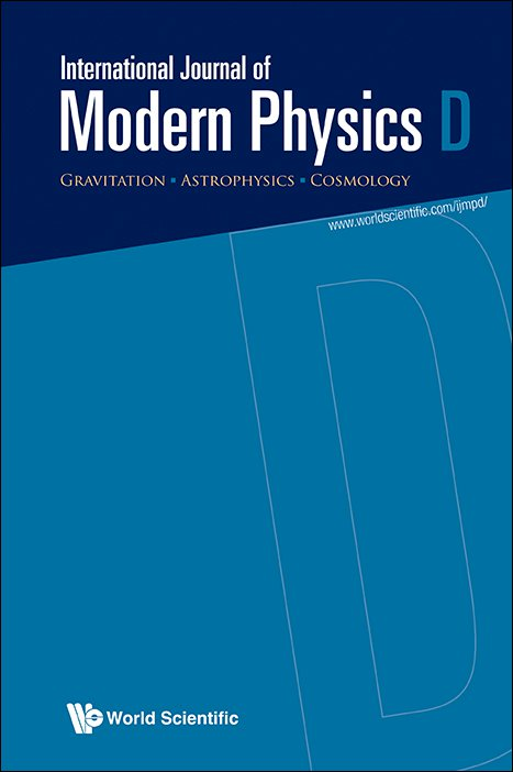 International Journal of Modern Physics D | Vol 0, No ja