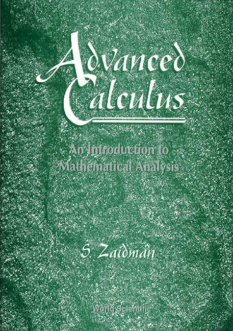 Advanced calculus advanced calculus cover fandeluxe Image collections