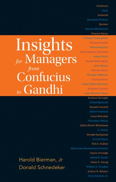 An introduction to accounting and managerial finance insights for managers from confucius to gandhi fandeluxe Choice Image