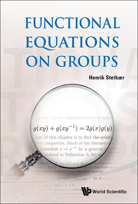 Functional equations on groups functional equations on groups cover fandeluxe Gallery
