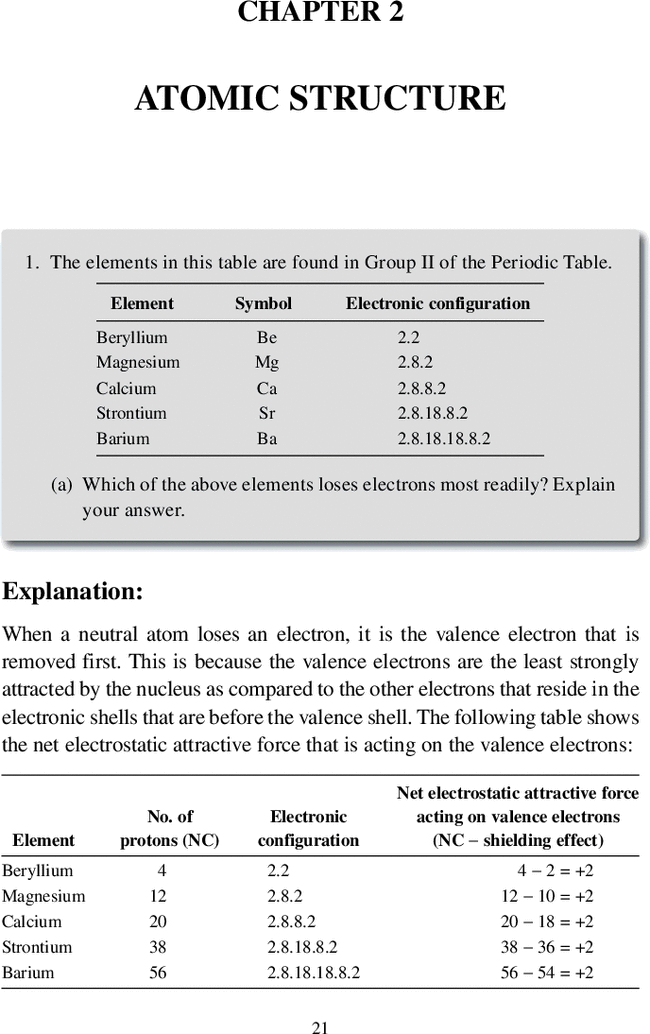 atomic structure understanding basic chemistry through problem   first page