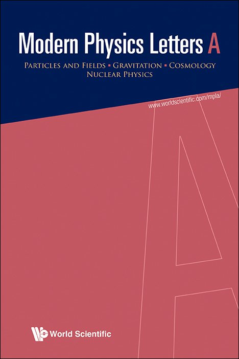 modern physics letters a