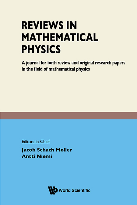 Image result for Reviews in mathematical physics